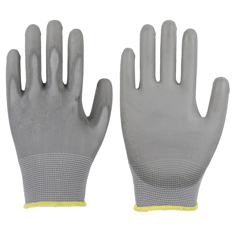Cut Resistant Gloves Nitrile 13 gauge Level 5 knit heavy duty nitrile coated anti cuts protection in