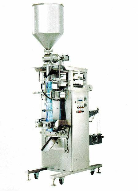 Viscous product packaging machine