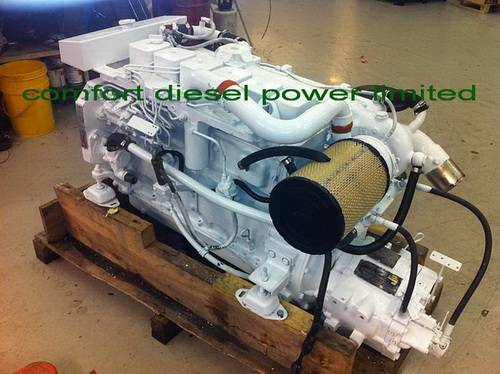 Cummins 6CTA8.3-M marine engine, 300HP 6CT marine engine for fish baots or commercial boats.