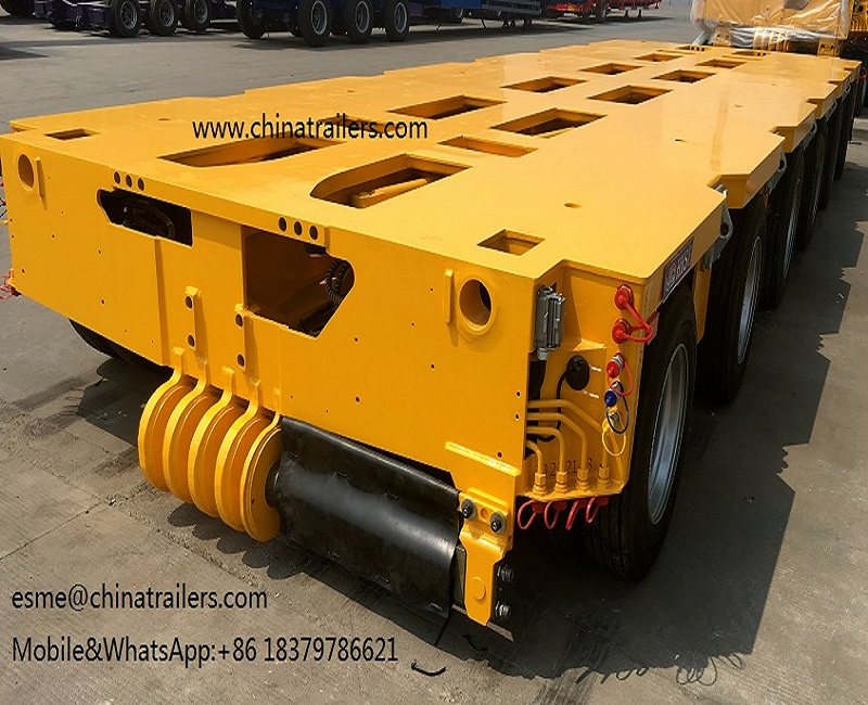 Chinatrailers Goldhofer THP/SL Brand model hydraulic modular trailer quality at hot sale