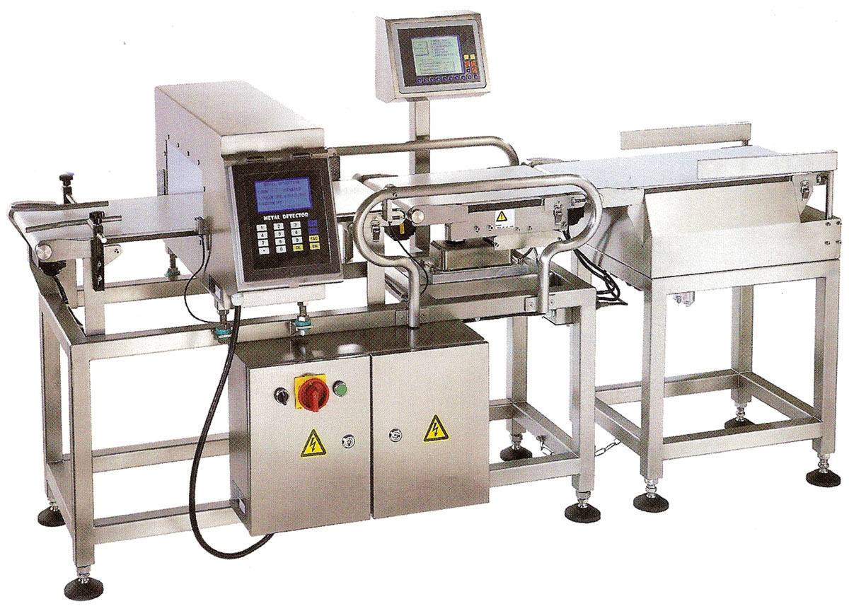 Brand New TeleSonic Check Weigher and Metal Detector - Stainless Steel