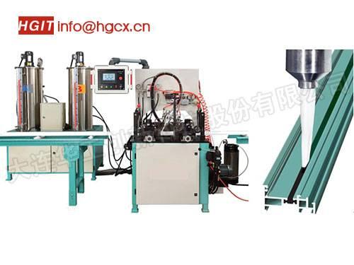 thermal barrier aluminum machine