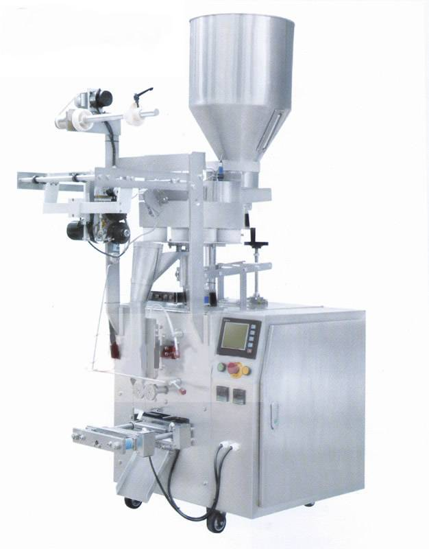Vertical sachet pouch packing machine