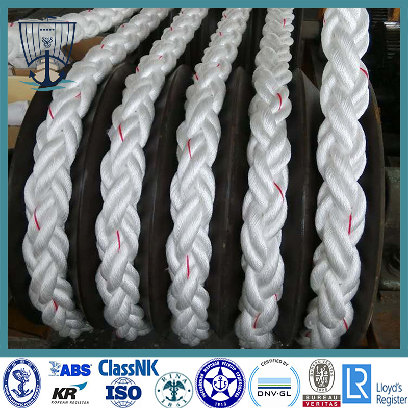 High Tensile Mooring Rope with Certificate