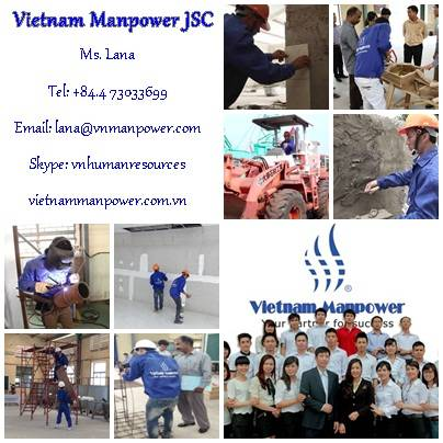 Vietnam Manpower replies to your demand for construction workers of all levels