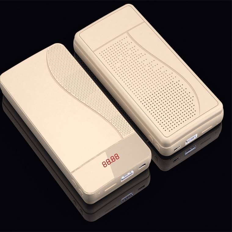 With bluetooth stereo mobile power, multi-functional mobile power, bluetooth stereo charging treasur