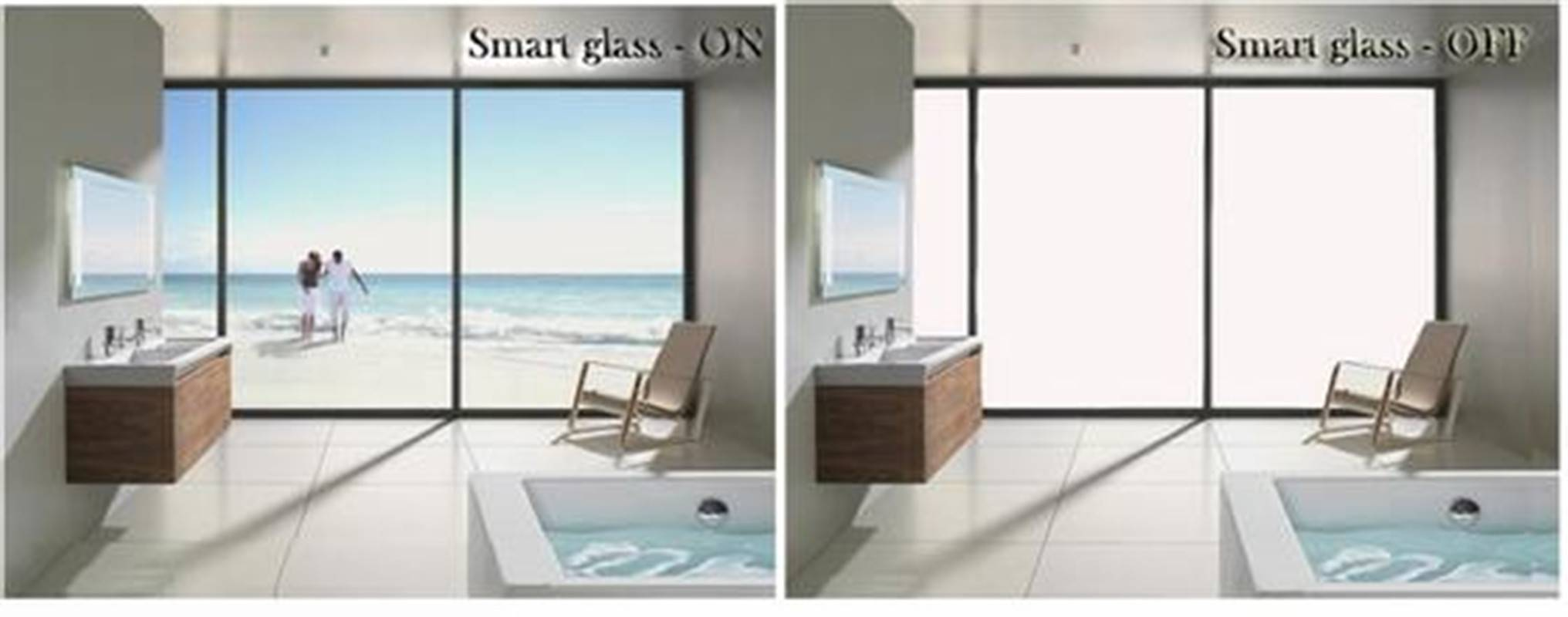 Electric privacy glass,clear and color smart switchable pdlc dimming film