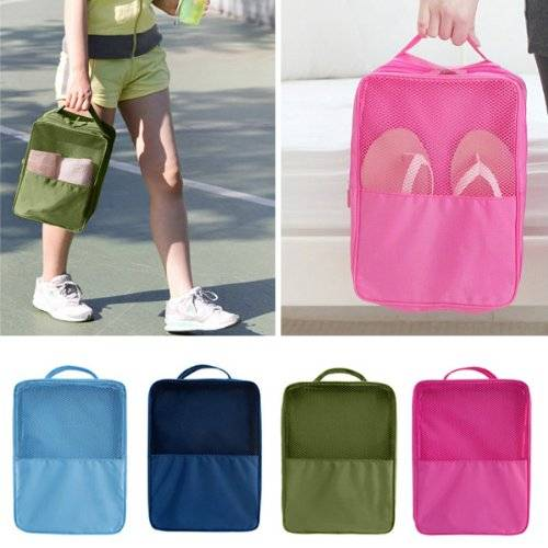 Portable Travel Shoes Storage Bag Case