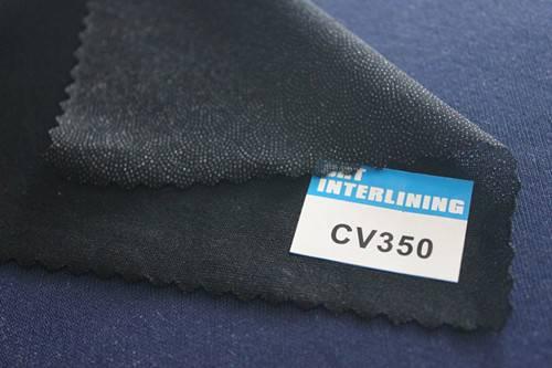 woven fusible circular knit interlining-CV350(interfacing)