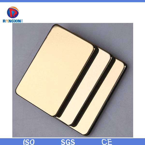 Rongxin mirror effect acp panel