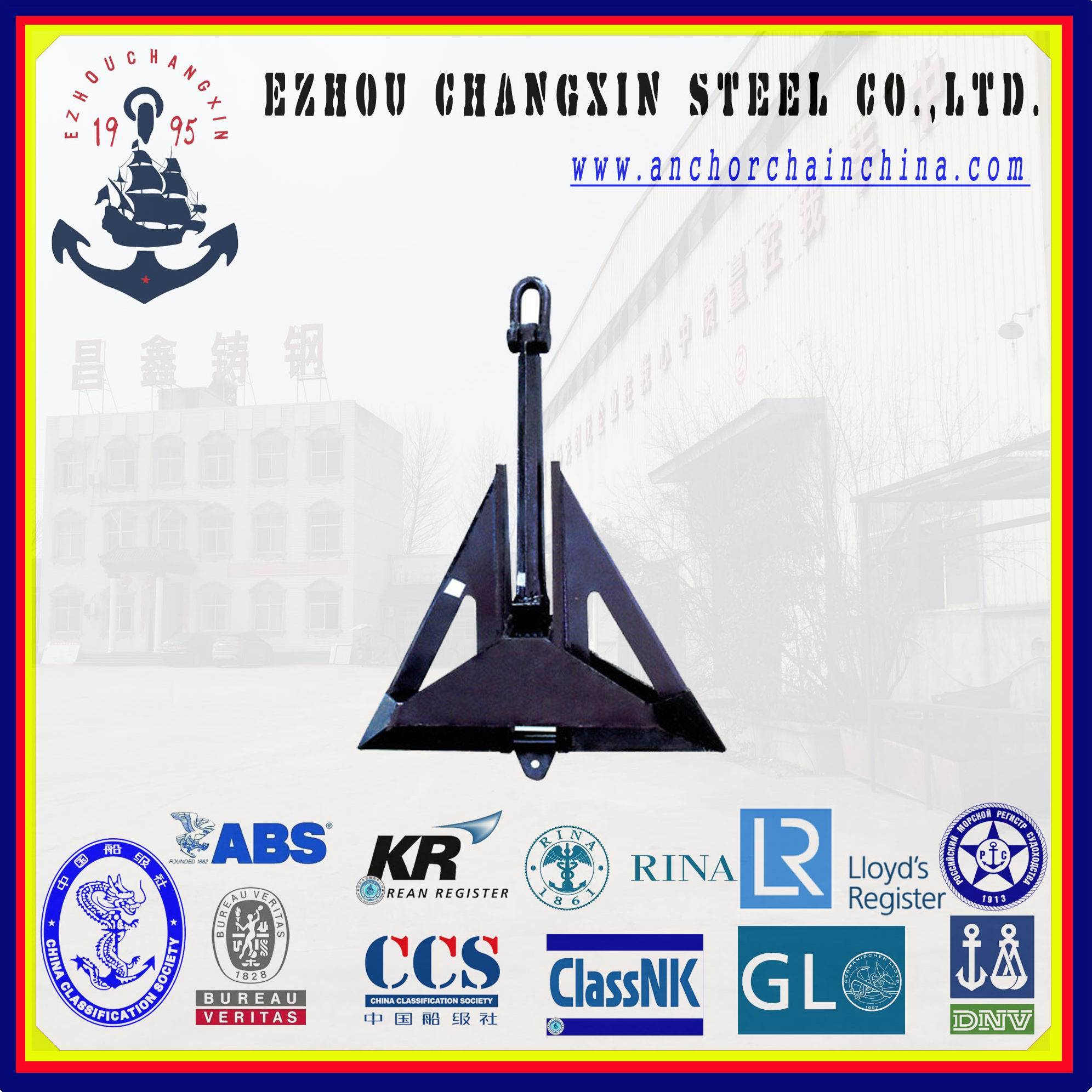 The worldsale ship anchor Marine High Holding Power HHP Delta Flipper Anchor for sale in china