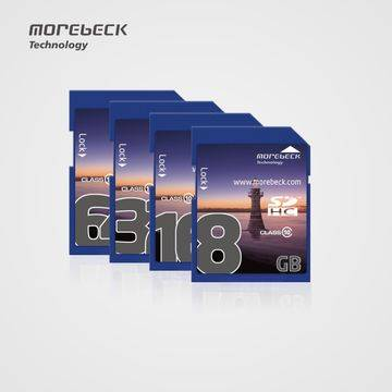 Morebeck SD cards, high speed, customizing according to your device New