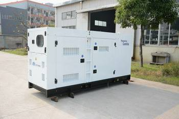 Soundproof and Rainproof Cummins 4B3.9-G1 Diesel Generator With Stamford Alternator Output 20kW
