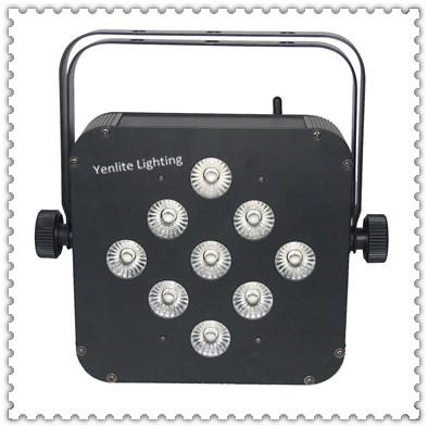 910W led battery wireless par light-2145A-9