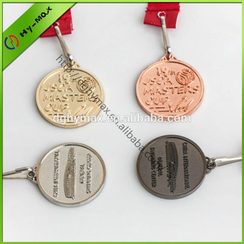 Double faces soft enamel gold coin
