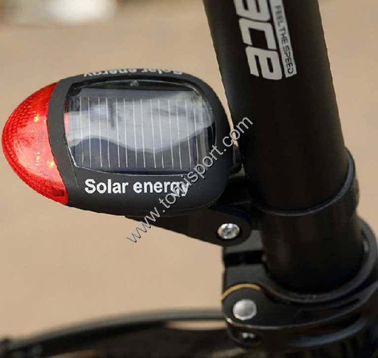 Mountain Bicycle Solar Tail Light