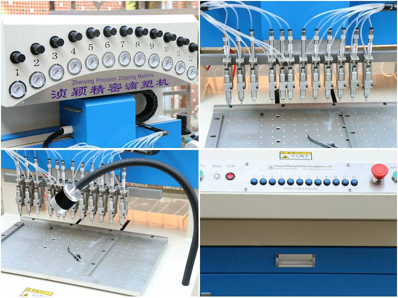 PVC/Ink automatic dripping/dispensing machine