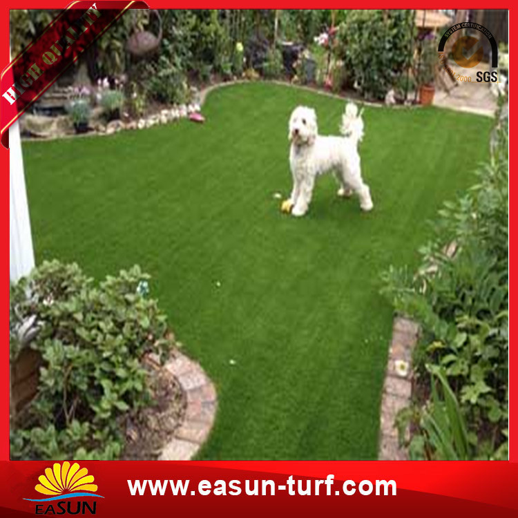 High quality plastic artificial turf grass mat for garden and sporting playground-Donut