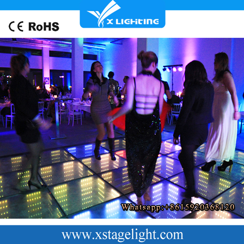 led 3D dancing floor Digital control rgb disco light