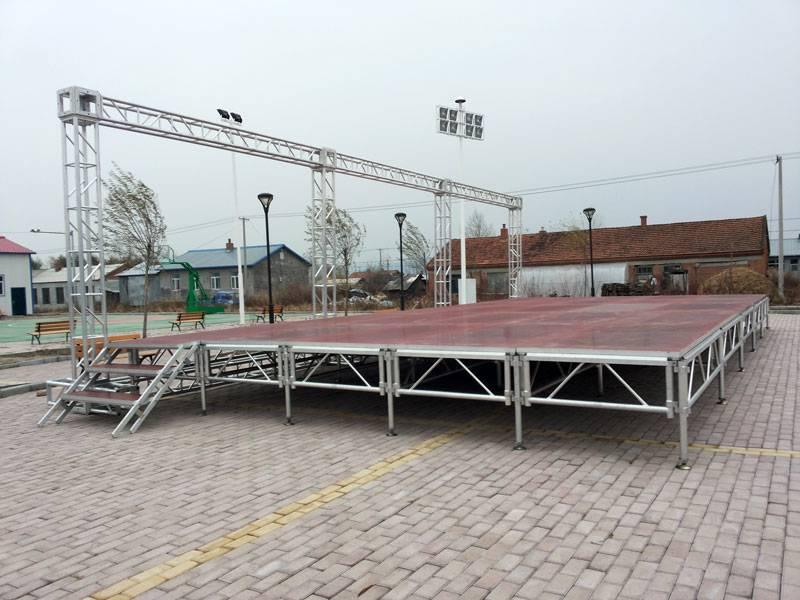 Aluminum Alloy Culture Square Stage Truss