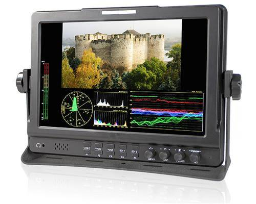 "hot sell 10.1"" HD camera monitor 1280*800pixel and 650cd/m2"