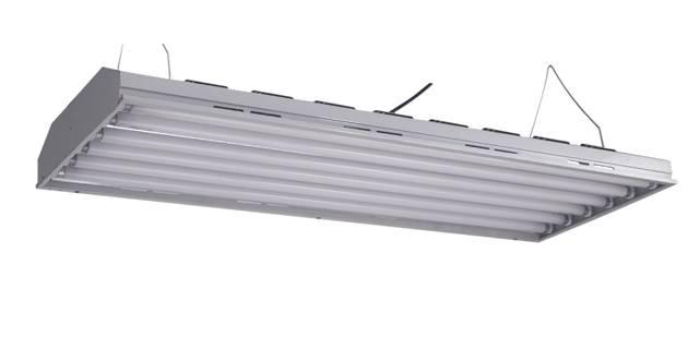 high lumen T5 fluorescent grow light plant light fixture