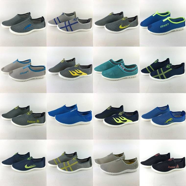 2016 Wholesale hot sale hollow out mesh comfort shoes for men