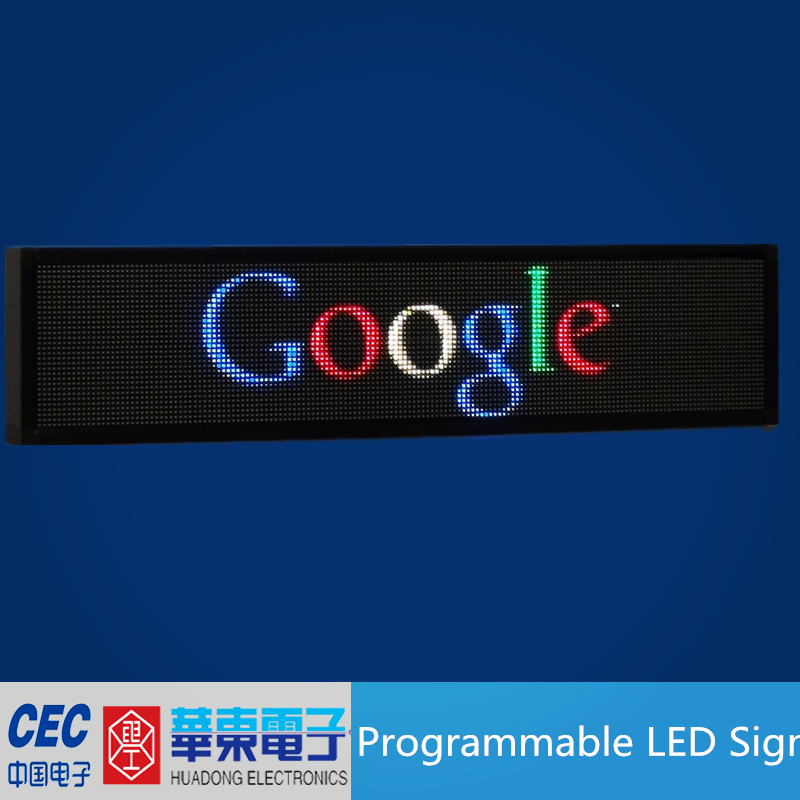 Full Color Programmable LED Advertising Board