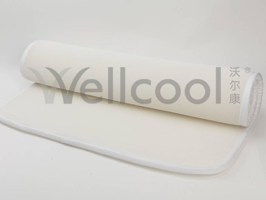 clean 3d mesh cushion