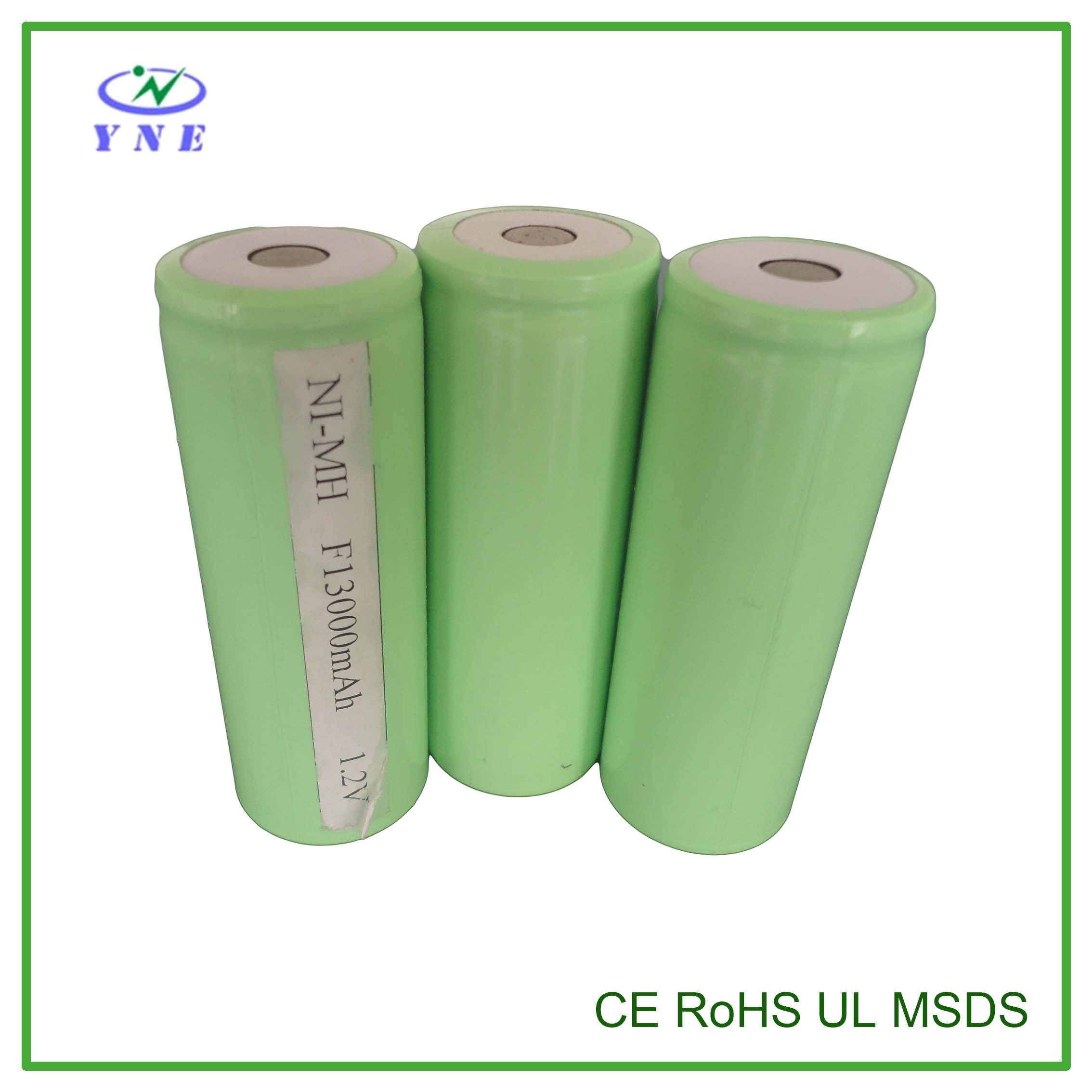 F 1.2V 13000mah Single Ni-MH Rechargeable Battery