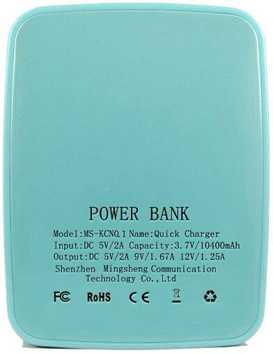 Wholesale mini portable power bank wireless custom usb quick charger travel charger with CE FCC ROSH