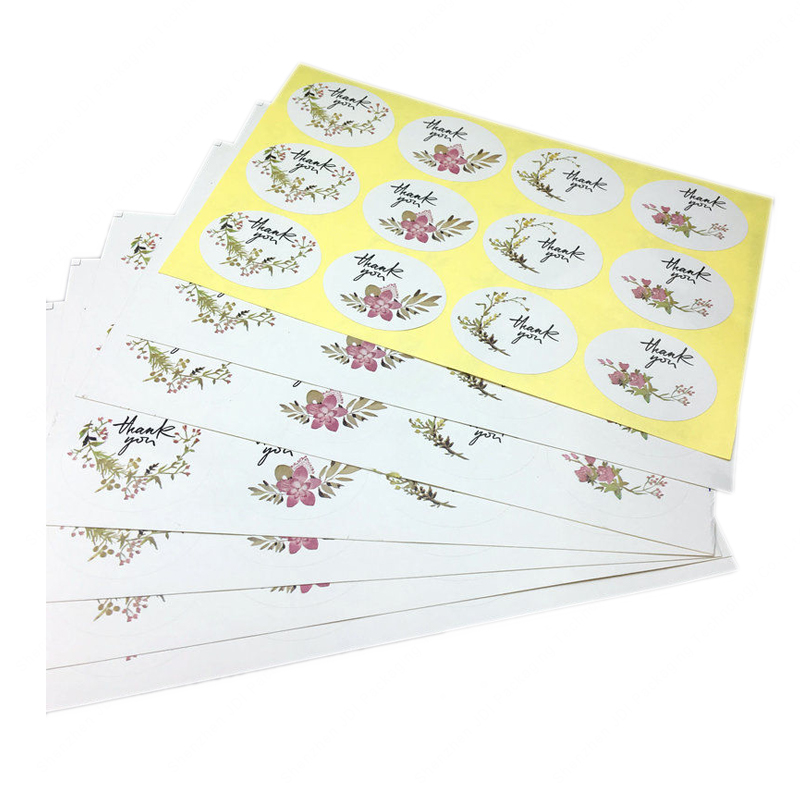Hot Sale Printing Packaging Adhesive Label Sticker