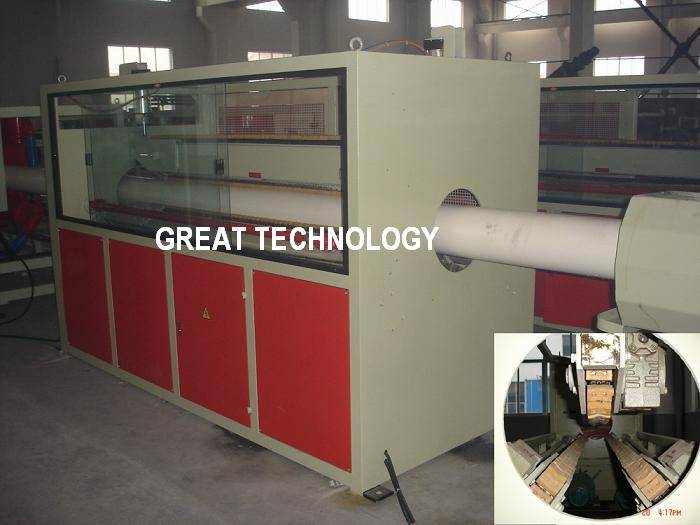 Drainage/water/sewer PVC pipe making machines