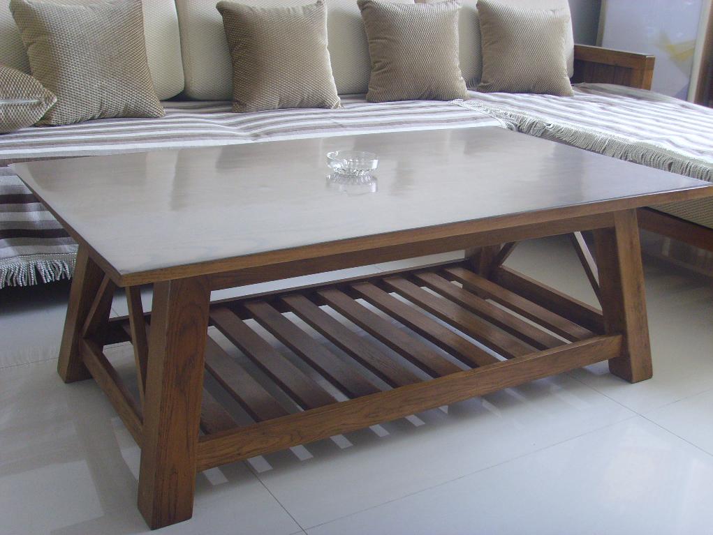 Coffee Table & Sofabed Set: living room furniture, wooden furniture, solid oak furniture