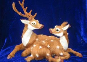 synthetic fur animal decoration, fur animal model decoration and gifts, Crafts Gifts, Gift Items