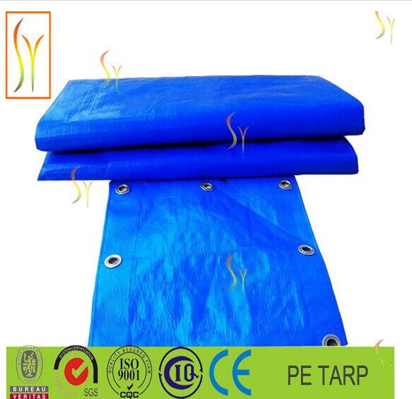 light duty traps waterproof uv-treated tarpaulin for road cover