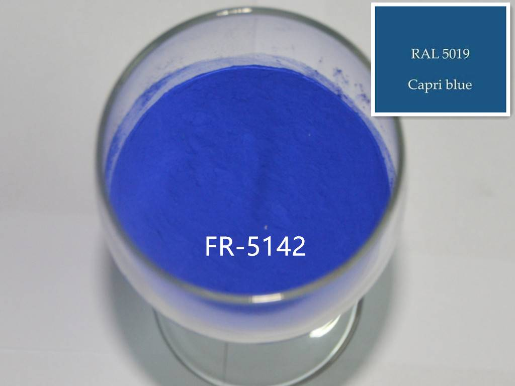RAL5019 Blue Powder Coatings use for Sports Equipment