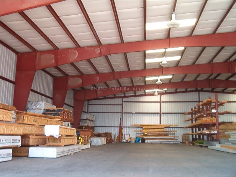 heavy weight steel warehouse