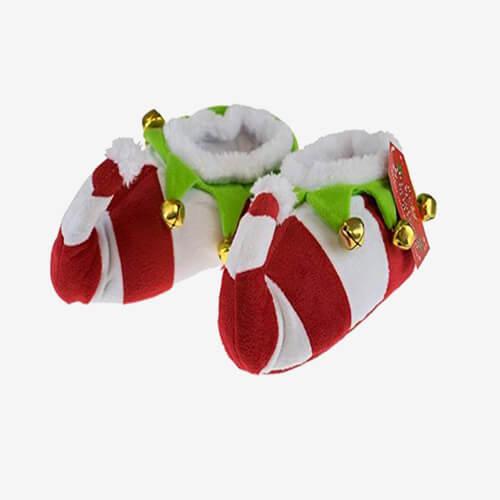 Plush shoes home use ordinary Christmas shoes