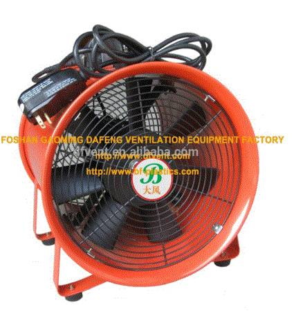 300mm portable air ventilation fan with UL certificated