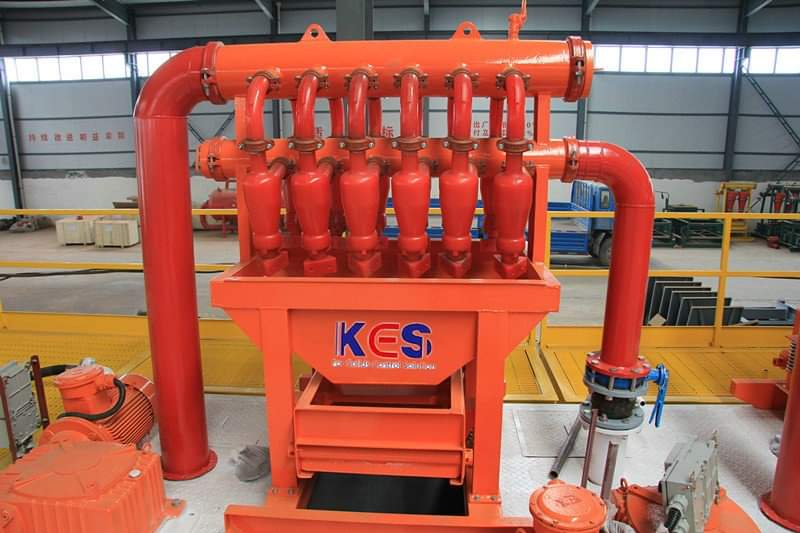 KES slurry separation plant for underground HDD pipe-jacking microtunneling