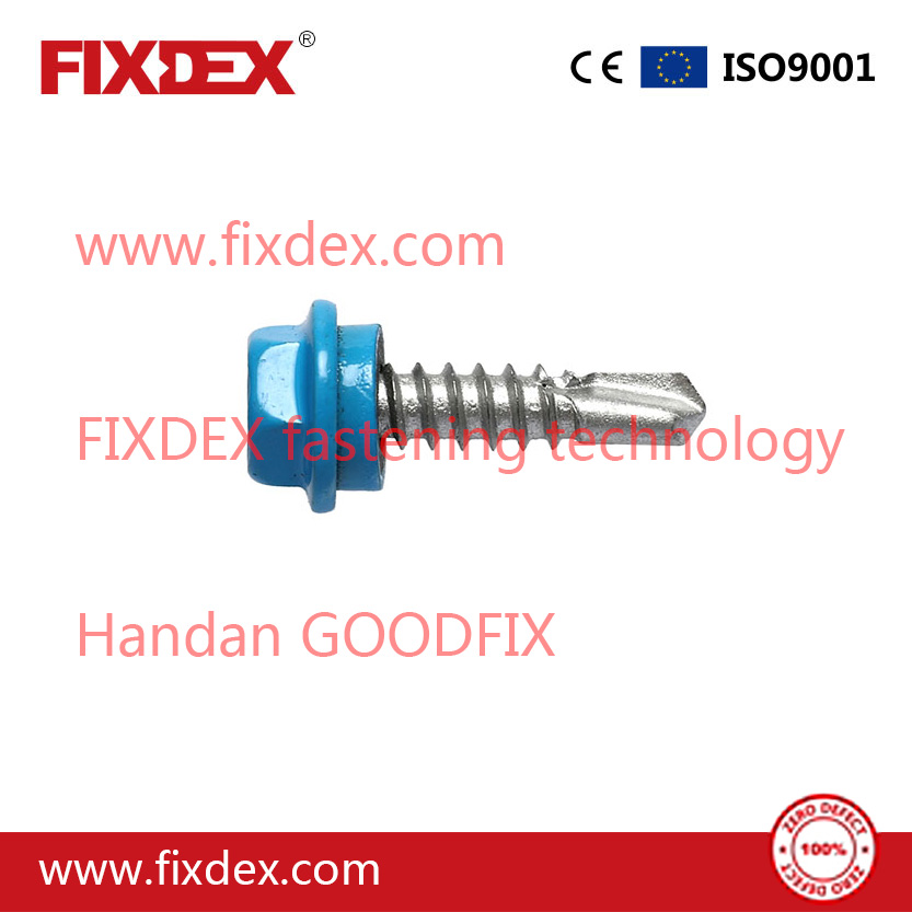 Hex Screw Self-Tapping and Self-Drilling Screws