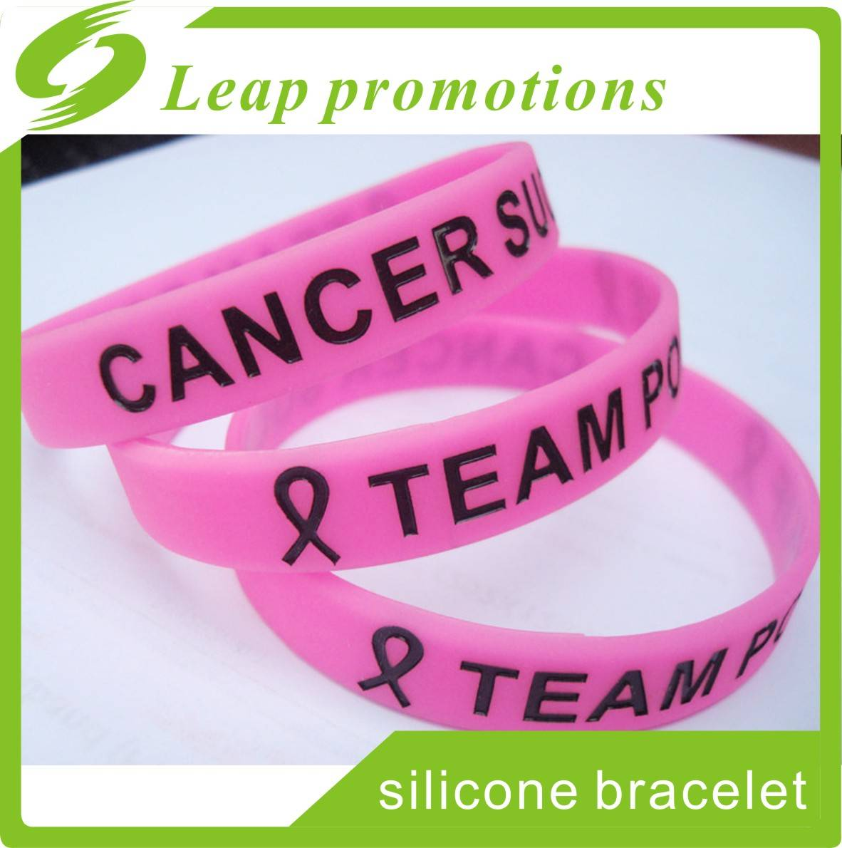 Fight cancer bracelets cancer silicone wristband