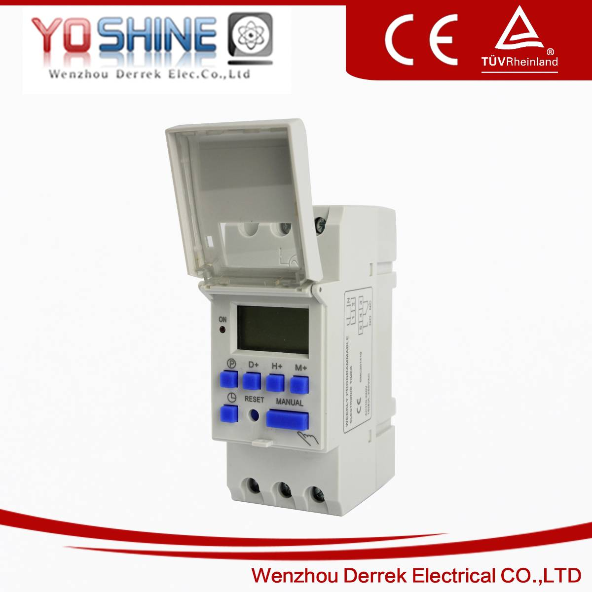 YX-192 AC220V Weekly Digital Time Switch