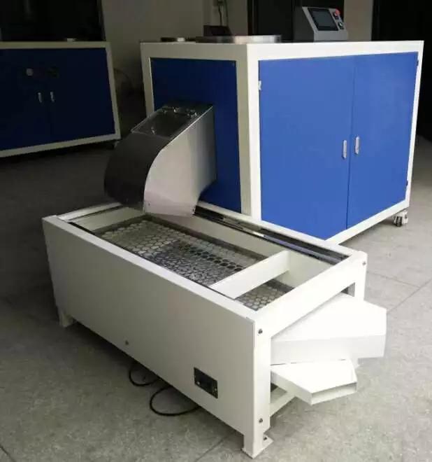 SPIN TRIM RUBBER DEFLASHING MACHINE FOR ORINGS