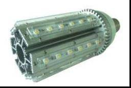 36w E40 Led Streetlight With 85 To 265v Ac Input Voltages And 3600lm Luminous Flux