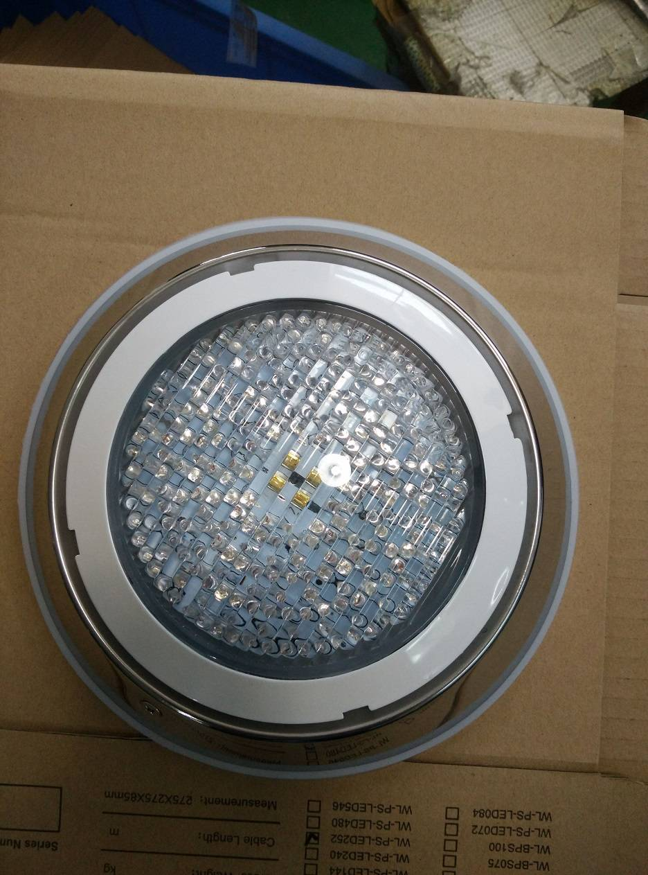 Waterproof IP68 Flat LED underwater pool light
