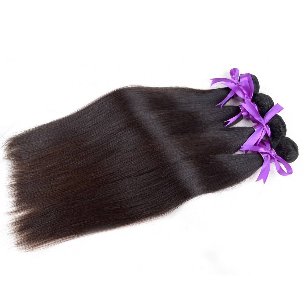Lin Hair Brazilian Virgin Human Hair Natural Black 8-26 inch