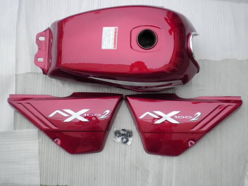 Motorcycle parts(Fuel Tank and Side Cover)
