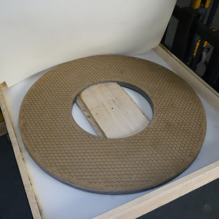 Double side grinding discs Vitrified CBN Grinding Discs